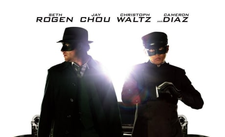 Seth Rogen and Jay Chou Go to Work on a New Green Hornet Poster!