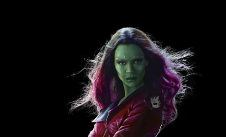 Guardians of the Galaxy Zoe Saldana Stars