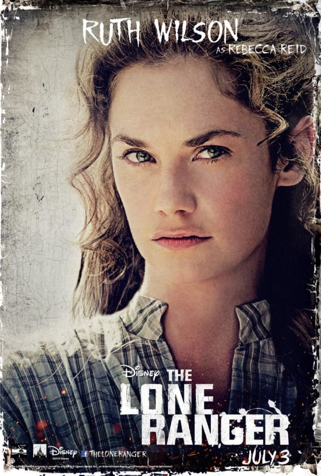 The Lone Ranger Ruth Wilson Poster