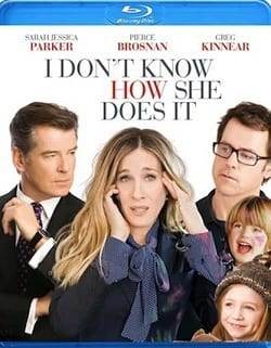 I Don't Know How She Does It Blu-Ray