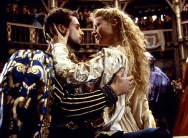 Shakespeare in Love Joseph Fiennes Gwyneth Paltrow