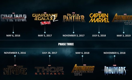 Marvel Phase Three Logo