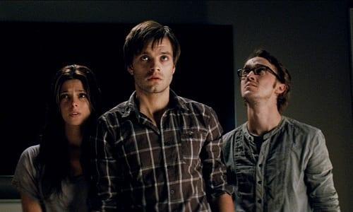 Ashley Greene, Sebastian Stan Tom Felton in The Apparition