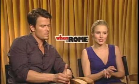 When in Rome Cast Interviews