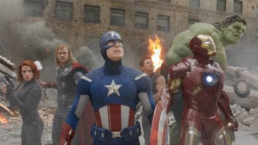 The Avengers in Action