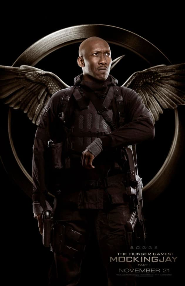 Mockingjay Part 1 Boggs Character Poster