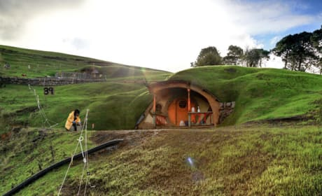 See Set Construction Photos from The Hobbit!