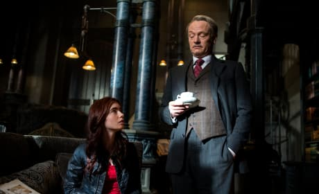The Mortal Instruments City of Bones Jared Harris Lily Collins