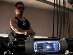Tony Stark in the Lab