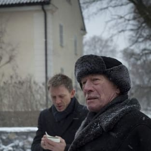 Christopher Plummer and Daniel Craig in The Girl with the Dragon Tattoo
