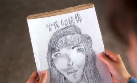 Napoleon Dynamite Trisha Drawing