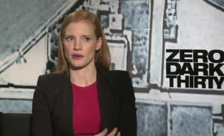 Zero Dark Thirty: Jessica Chastain Pays Tribute to Real Heroes