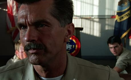 Tom Cruise Tom Skerritt Top Gun