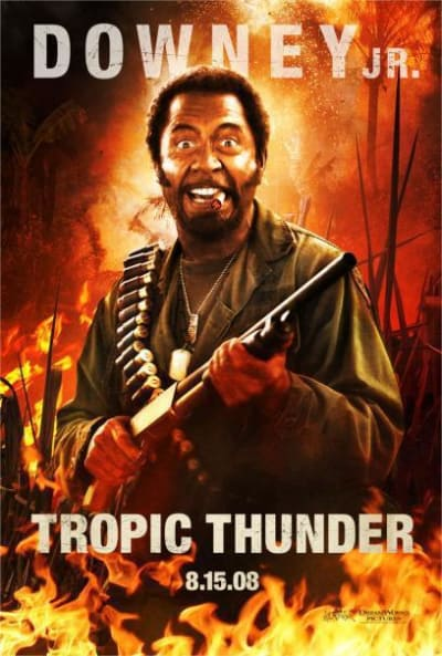 Alternative Tropic Thunder Poster