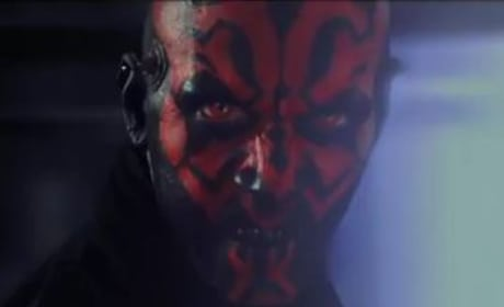 Darth Maul in Phantom Menace