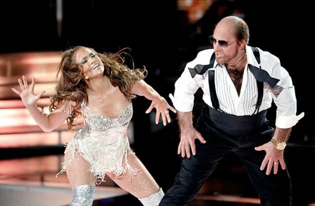MTV Movie Awards Les Grossman Jennifer Lopez