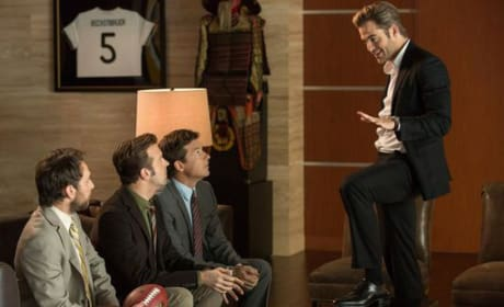 Horrible Bosses Jason Sudeikis Charlie Day Jason Bateman Chris Pine