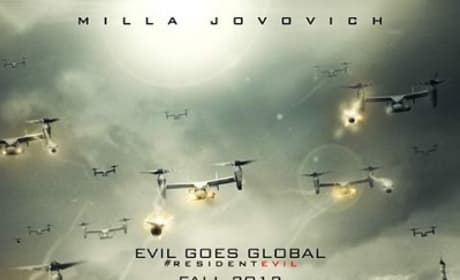 Resident Evil Retribution Poster: Where's Milla Jovovich?