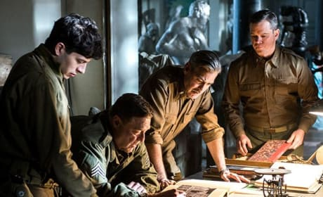 The Monuments Men George Clooney Matt Damon
