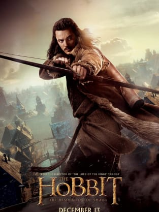 The Hobbit: The Desolation of Smaug Bard the Bowman Poster