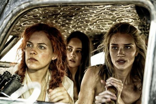 Mad Max Fury Road Rosie Huntington Whitely