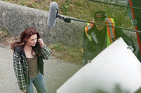 Stewart on Set