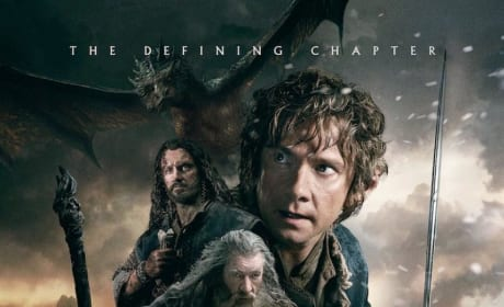 The Hobbit The Battle of the Five Armies Poster Revealed: The Gang's All Here!