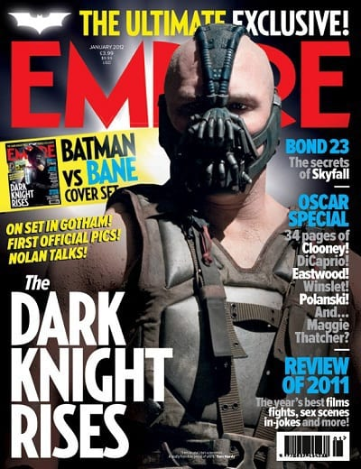 The Dark Knight Rises: Tom Hardy is Bane