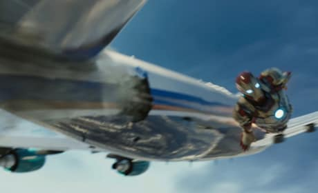 Iron Man Airplane Still