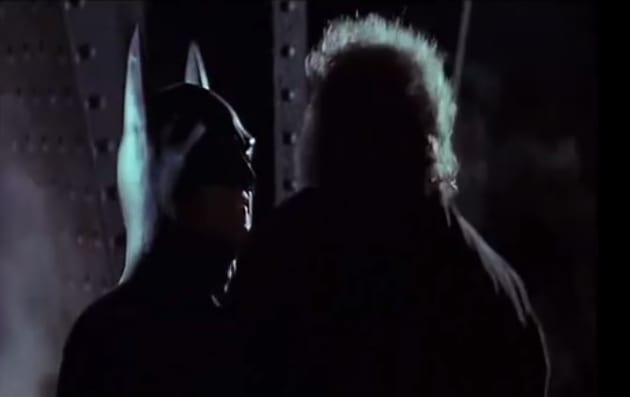 Michael keaton is batman