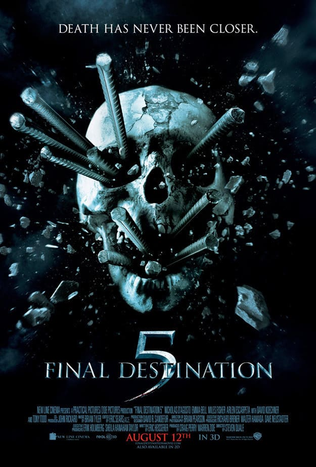 Don Vance Auto Group >> Final Destination 5 Poster Released - Movie Fanatic
