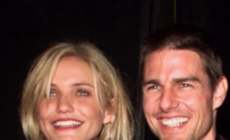 Tom Cruise and Cameron Diaz Work Knight & Day