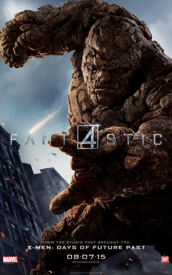 Fantastic Four Character Poster The Thing