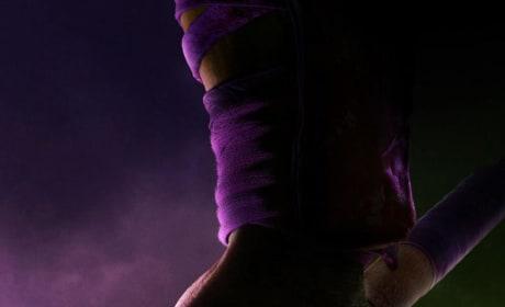 Teenage Mutant Ninja Turtles Baton Poster