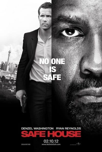 Denzel Washington, Ryan Reynolds Star in Safe House Poster ...