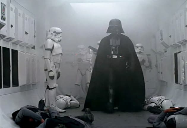 Darth Vader's First Scene