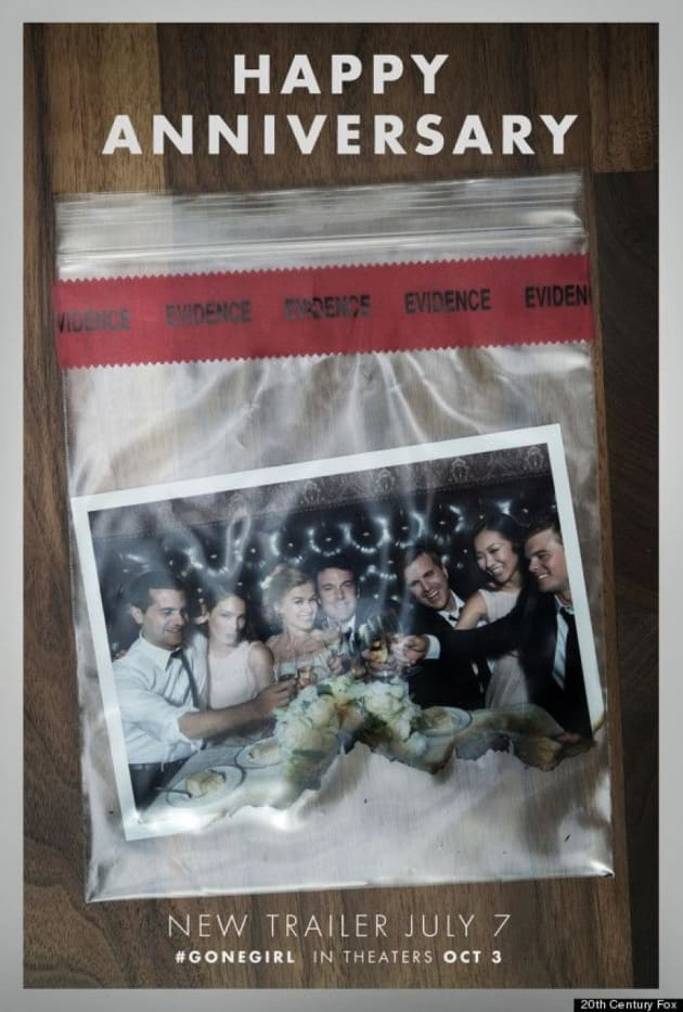 Gone Girl Wedding Photo Poster
