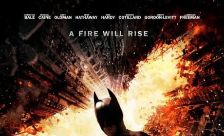 The Dark Knight Rises Poster: Bombs Over Gotham
