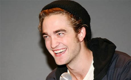 Robert Pattinson Attends Twilight Q&A