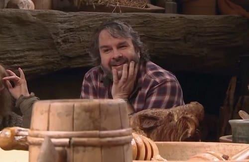 Peter Jackson The Hobbit: The Desolation of Smaug Set Photo