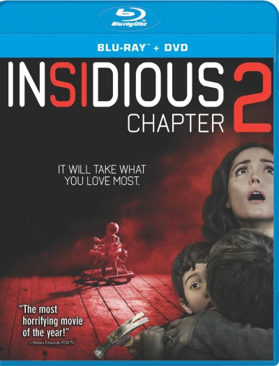 Insidious Chapter 2 DVD