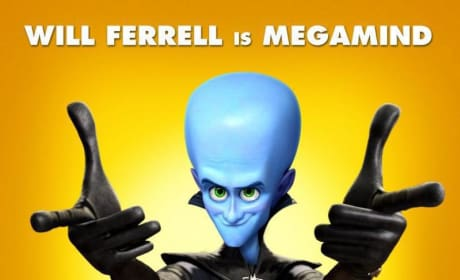 Four Character Posters and a New Trailer for Megamind Released!