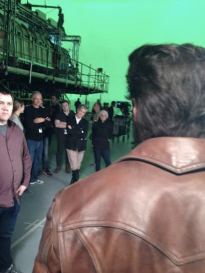 X-Men: Days of Future Past Wolverine Set Photo