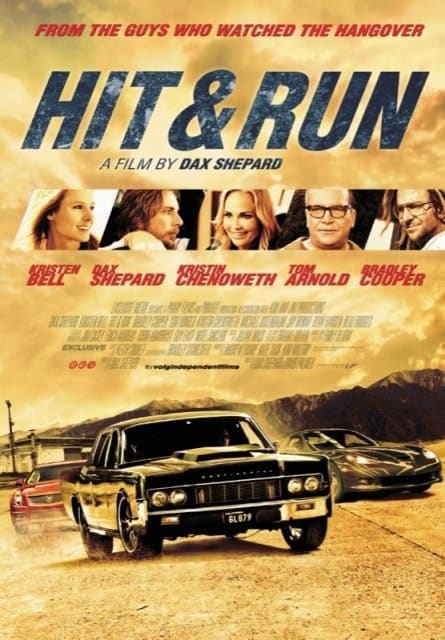 Hit and Run Poster 2