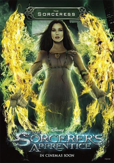 The Sorcerer's Apprentice Sorceress Poster