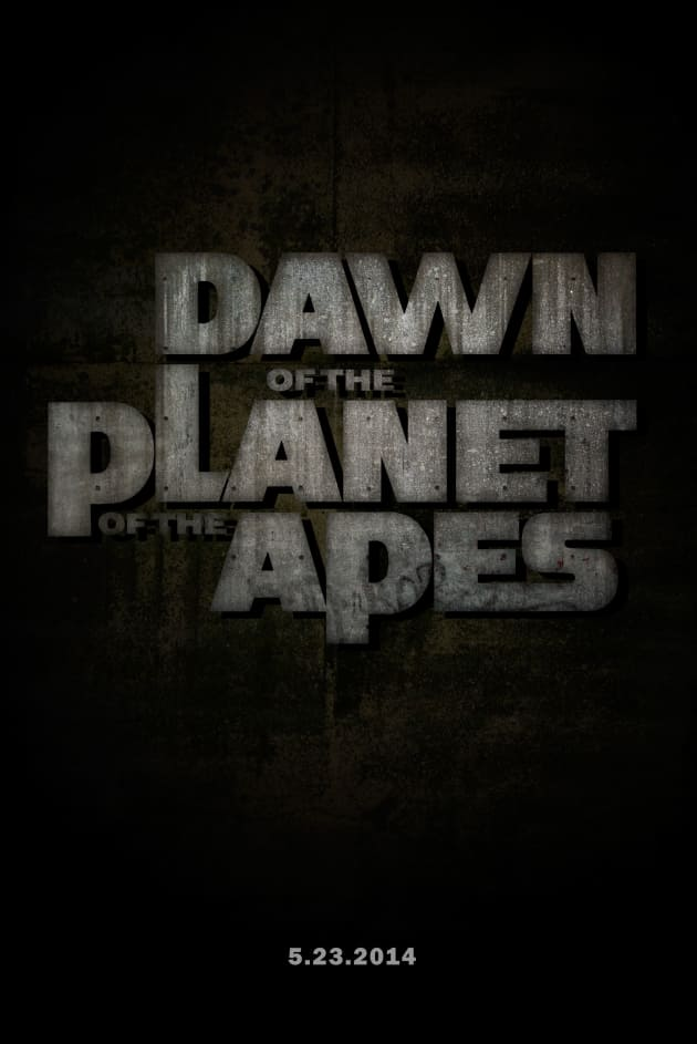 Dawn of the Planet of the Apes One-Sheet Poster
