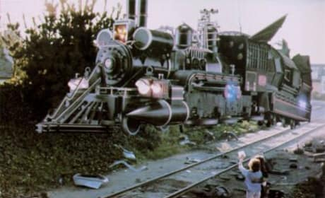 The Time Machine... Train