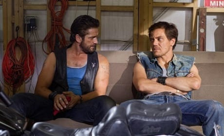 Gerard Butler and Michael Shannon in Machine Gun Preacher