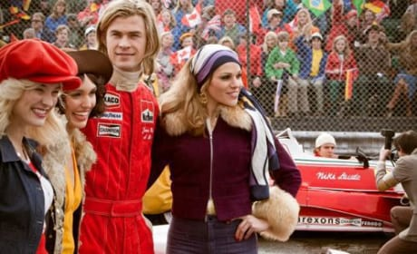 Rush Photos Show Chris Hemsworth As Formula One Racer James Hunt