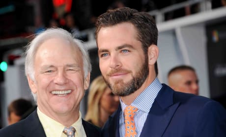 Robert Pine Chris Pine Photo